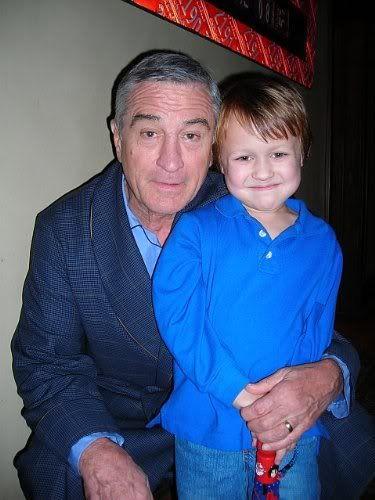 Colin Baiocchi with Robert DeNiro