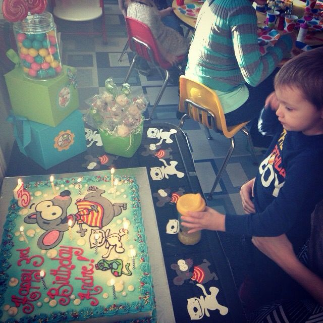 My little man's 3rd birthday party (Toopy and binoo)