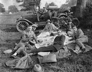 vintage picnic photos - - Yahoo Image Search Results