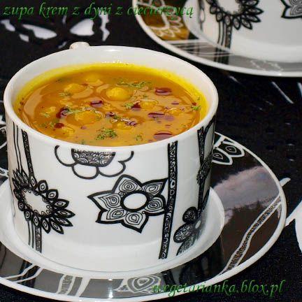 zupa krem z dyni z ciecierzycą