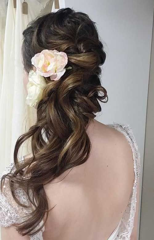 In this post you will findReally Pretty Wedding Hairstyles for Long Hairthat can be inspiring for your wedding day!Wedding is one of the most important...