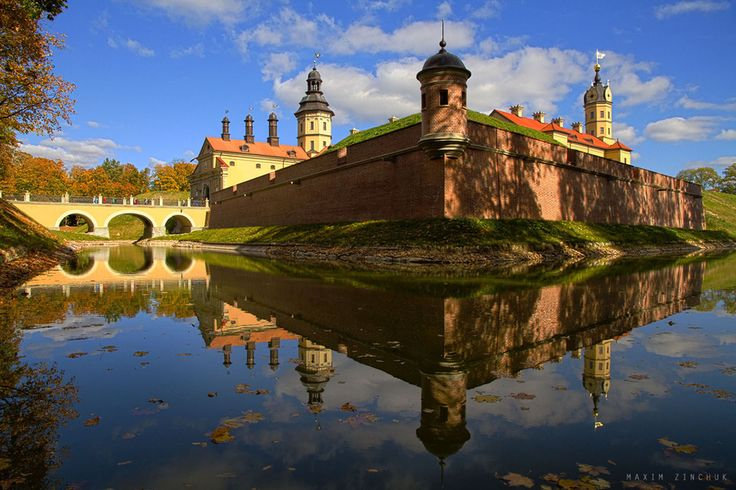 Nesvizh Castle , Belarus #World heritage