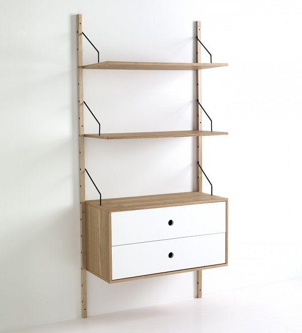 Usor de integrat in orice living modern, Biblioteca Kiju II imbina simplitatea si eleganta intr-un mod surprinzator. #SomProduct #InspiringComfort #wood #design #arhitecture #white #nature