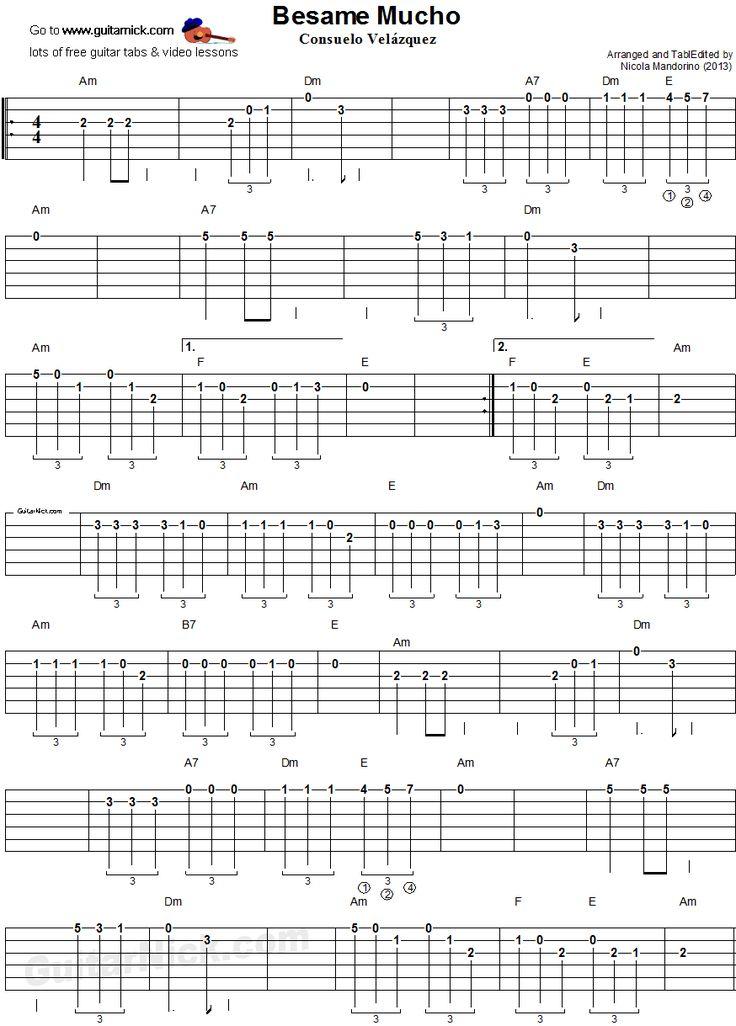 9 best Guitar tabs images on Pinterest | Guitar chord, Guitar chords ...