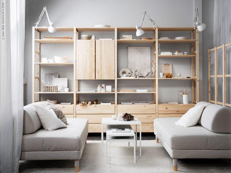 IVAR i vardagsrummet | IKEA Livet Hemma – inspirerande inredning för hemmet