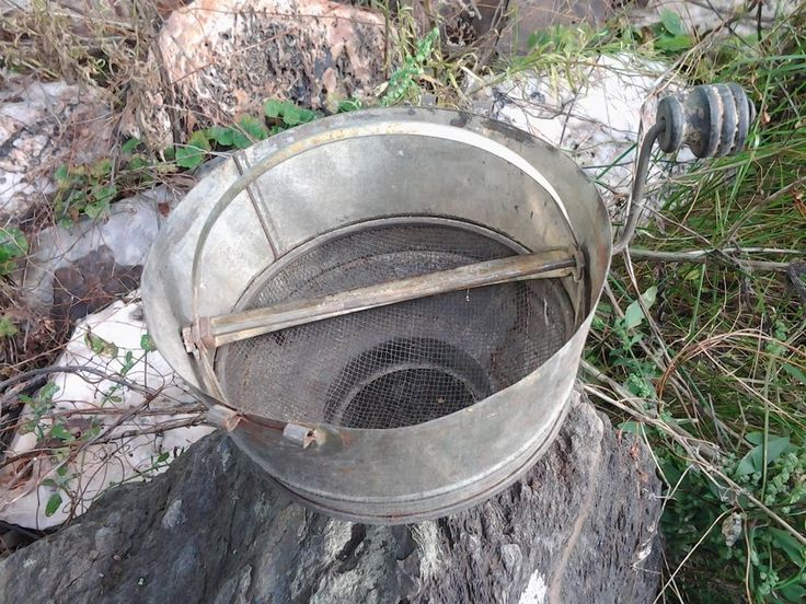 Antique Primitive Milk Strainer From Old-Time Farm Auction - Rare!
