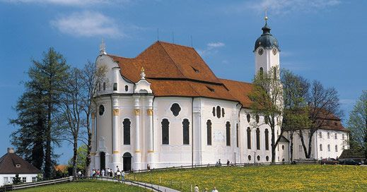 Church Wieskirche l Germany