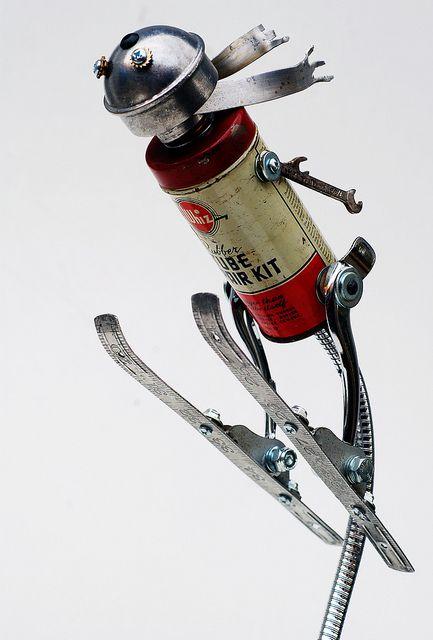 ski jumper by Lockwasher, via Flickr