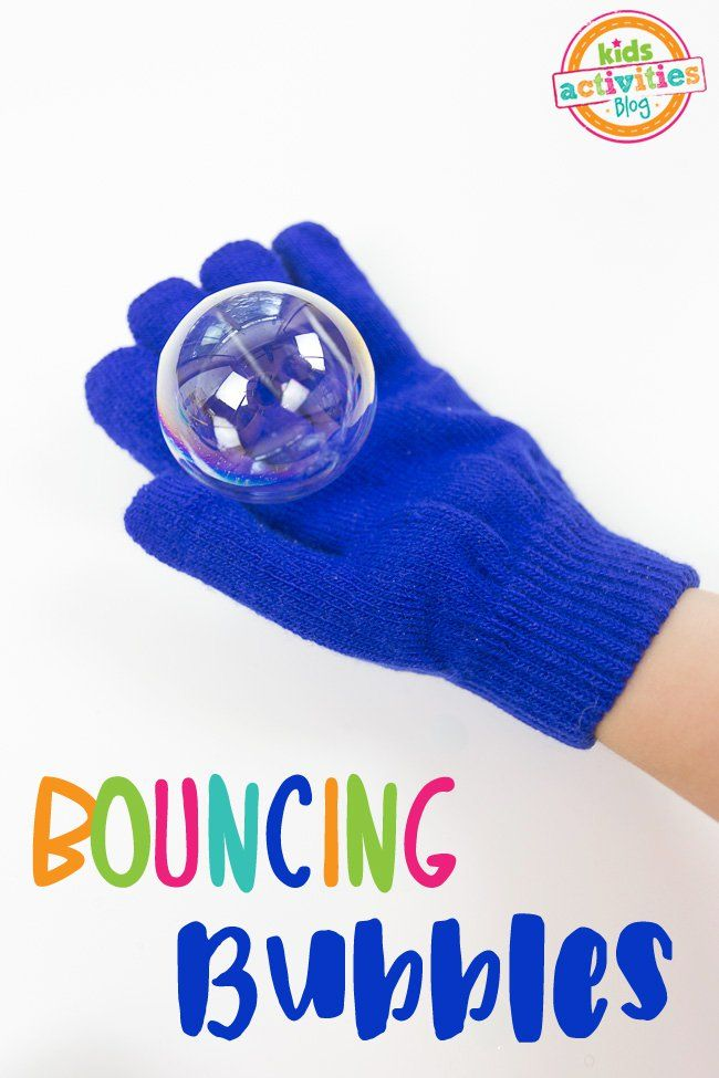 How fun is this?! Bouncing Bubbles without glycerine, thanks to @ImperialSugar ! #ad