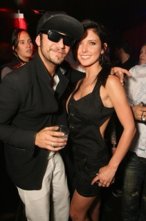 Audrina and Justin Bobby of The Hills. They're cute together, albeit JB's crappy attitude. :p