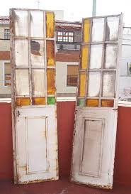 puertas antiguascon vidrio repartido con detalles de vidrios en color - Buscar con Google
