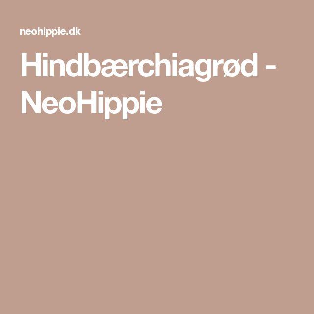 Hindbærchiagrød - NeoHippie