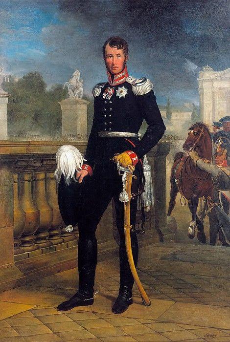 Король Пруссии Фридрих Вильгельм III. Юлиус Шрадер. Описание картины, скачать репродукцию.
