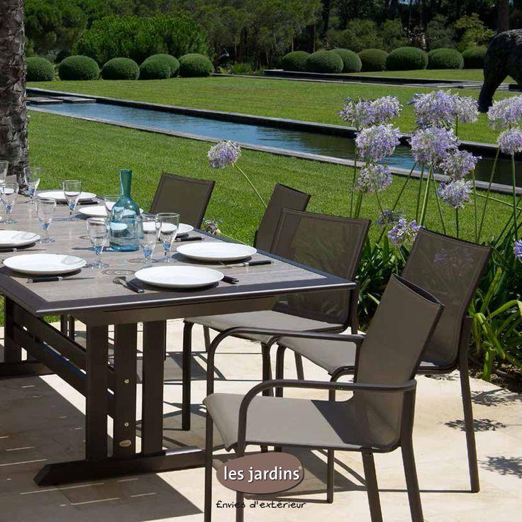 Les 15 meilleures images du tableau tables par les jardins - Les jardins au bout du monde outdoor furniture ...