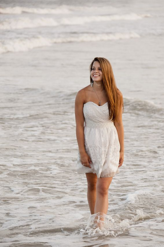 Senior portraits on the beach. Hilton Head Island, SC.
