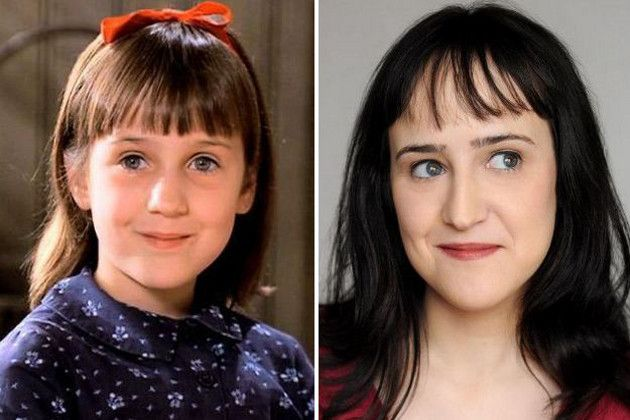 """trends vcv THE CAST OF THE MOVIE """"MATILDA"""" THEN AND NOW"""