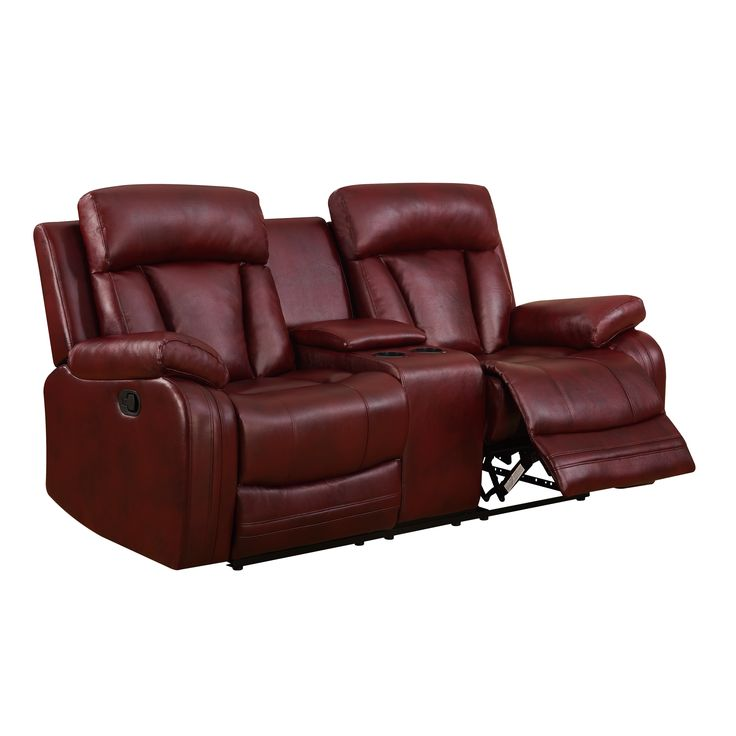 Modern Sectional Sofas Global Furniture Burgundy Console Reclining Loveseat Global Furniture Console Reclining Loveseat Red Plastic