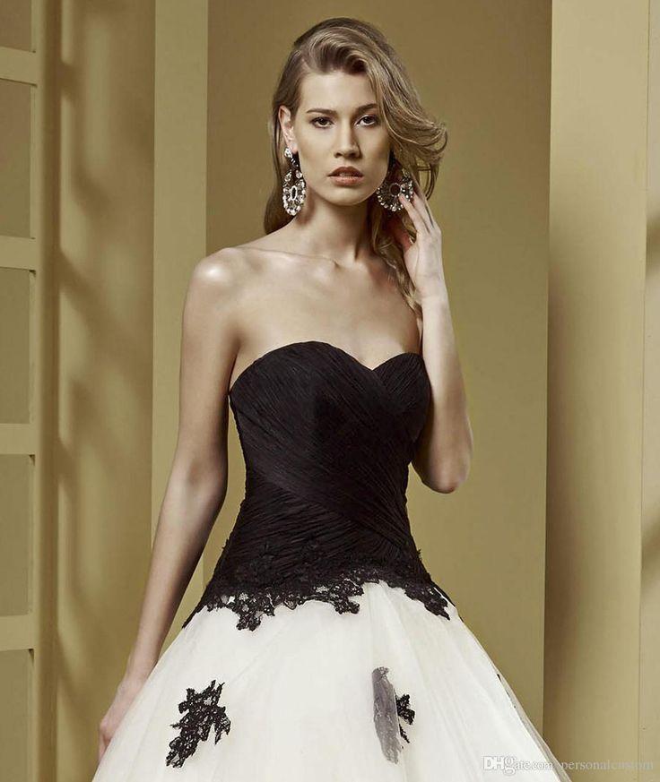 Stunning Black Wedding Dress Long Sleeves Sareh Nouri