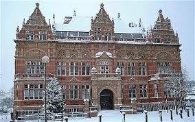 Blackburn - Blackburn College in the Snow