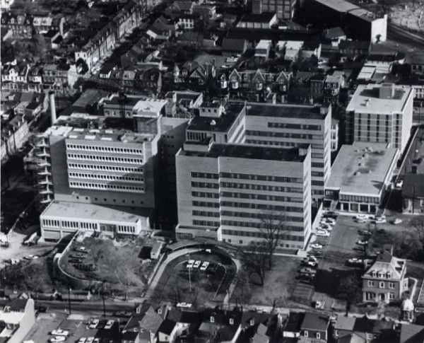Exterior: Lancaster General Hospital, An Aerial View From The Early