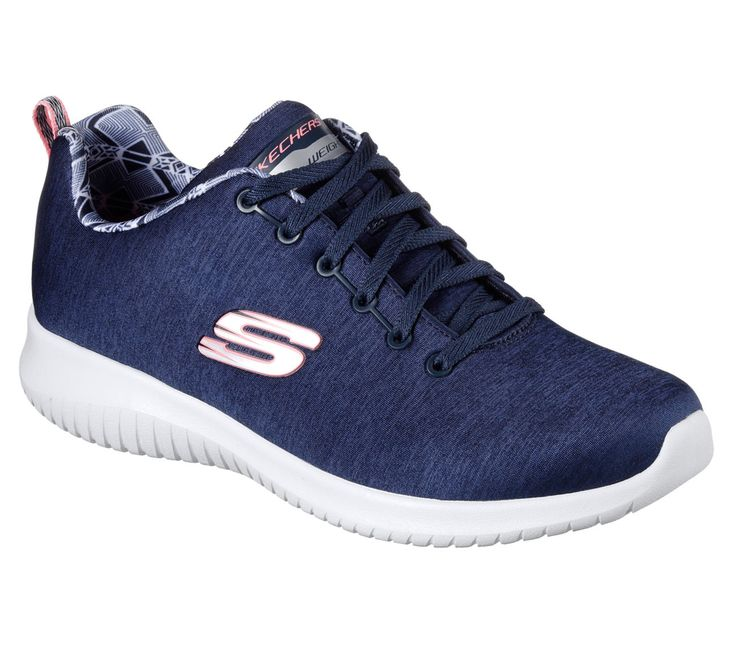 12834 Navy Skechers Shoes Memory Foam Women Sport Comfort Walking Casual Sneaker