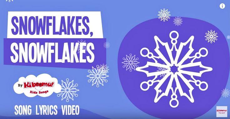 Snowflakes Snowflakes Song Lyrics   Winter Song for Kids   Snowflakes Fa...
