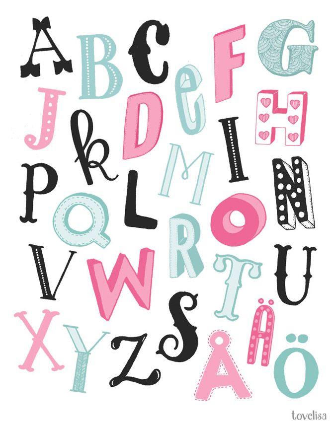 Alfabet   Svenskt alfabet