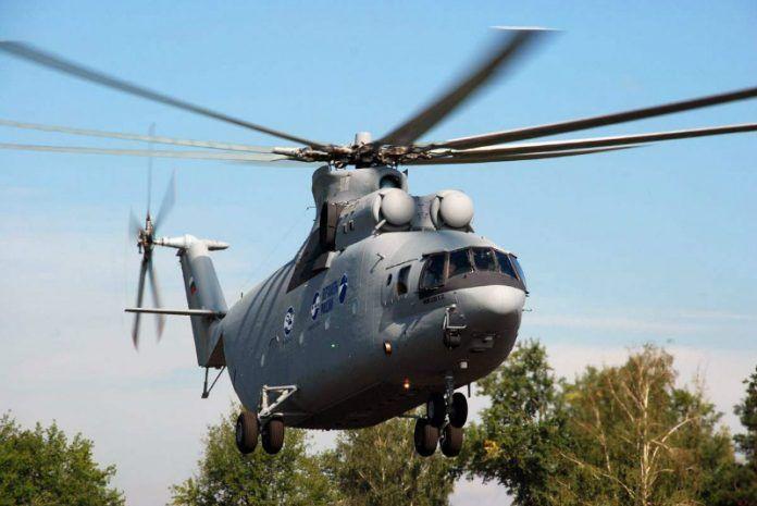 elicottero da trasporto russo  Mi - 26 T 2