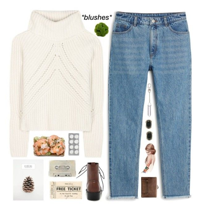 """""""Untitled #381"""" by my-black-wings ❤ liked on Polyvore featuring rag & bone, Monki, Uslu Airlines, Emili and Forever 21"""