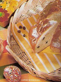 Cukroví na Vánoce: Velikonoční mazanec