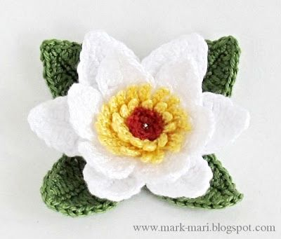 Free Crochet Magnolia Flower Pattern : 1000+ images about Free Crochet Flower Patterns on ...