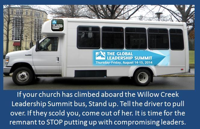HERE'S YOUR WILLOW CREEK/GLOBAL LEADERSHIP SUMMIT RESEARCH