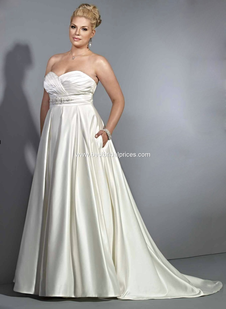 Private Label Signature Plus Wedding Dresses - Style 3358  My jaw dropped...