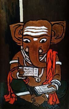 Buy and Sell Paintings Online | Indian Artists Art Gallery Online | Contemporary Paintings - mojarto.com. gujjarappa