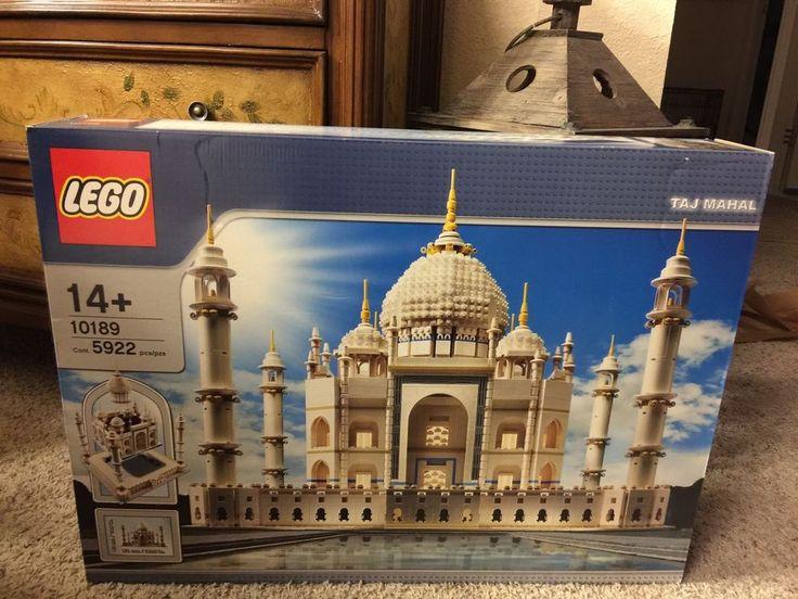 Lego 10189 Taj Mahal 100 Complete SEALED Box No Damage on Box   eBay