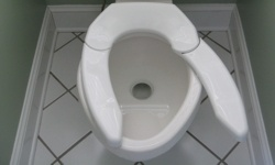 This is the world's first and only patented toilet seat that adjusts to an individual's natural sitting position providing greater comfort, support, relaxation and improved personal hygiene.    Until now, toilet seats marketed to the 100+ million bariatric and limited mobility users have only been variations on the same old traditional toilet seat design and come with a higher price tag. This seat is truly unique and of high quality and strength.