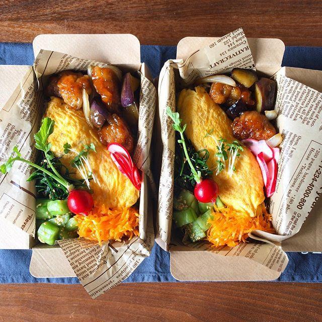 * 今日は飲みに行くらしいので(Yeeeeeeeeees!)使い捨て弁。ちーさん用と差し入れ用。 ・しらすと葱の炒飯(見えませんが) ・いまいちオムレツ ・豚と茄子の甘酢あん ・ひじきとおかひじきの胡麻和え ・翡翠キュウリのナムル ・人参の塩麹きんぴら ・赤カブ甘酢漬け . 錦織さんWDはまあ予想してたので驚かない。ウィンブルドンには無事に出られますように。私の(違います)ロジャーはまだ調子がいまひとつだけど勝ってよかった。このまま優勝してください では皆さま良い1日をー☺︎