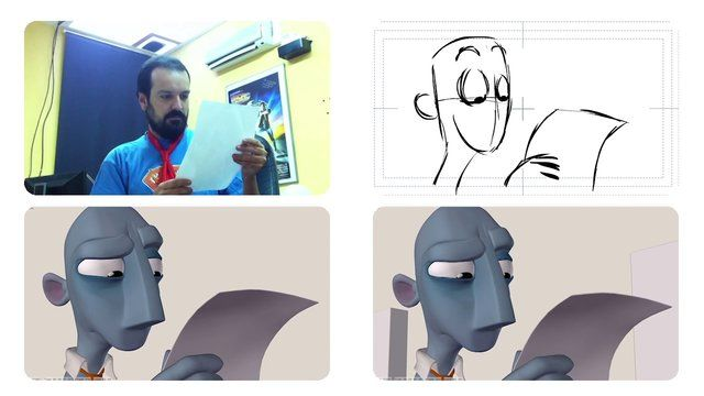 Progress Reel by psl. This video shows the different stages of our animation process.