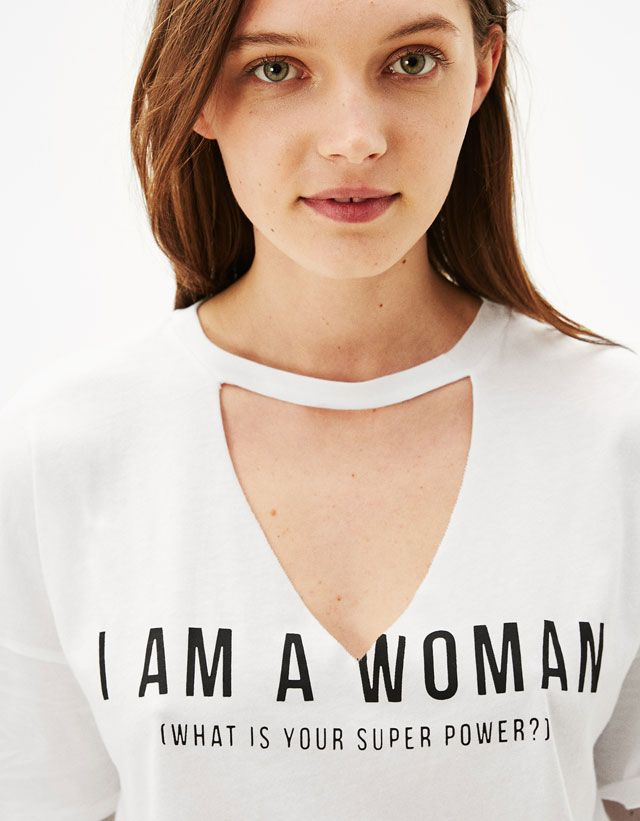 T-Shirts - CLOTHES - WOMAN - Bershka Turkey
