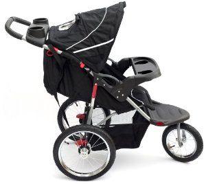 Bambini Duo Nero Black 3 Wheel Baby Stroller Pushchair