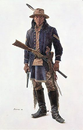 Crow Cavalry Scout by James Bama