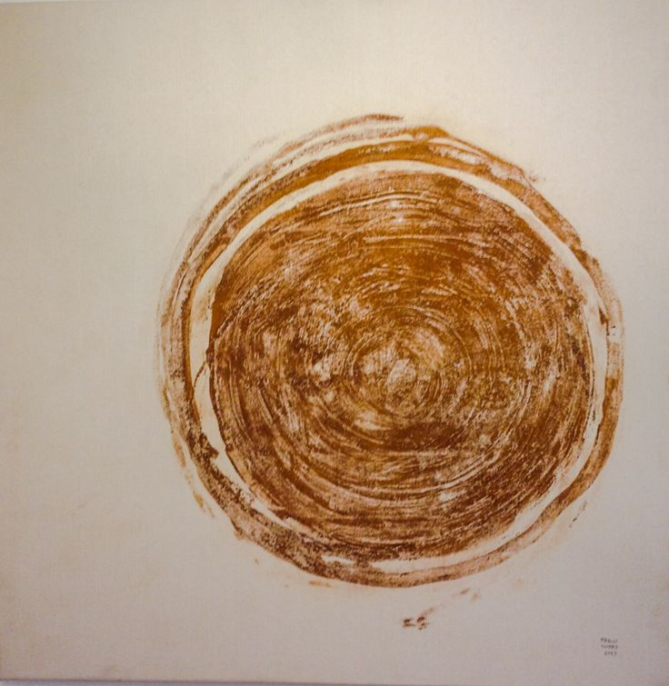 Ice painting collection 2013 Marco Nones (ice-rust on canvas)