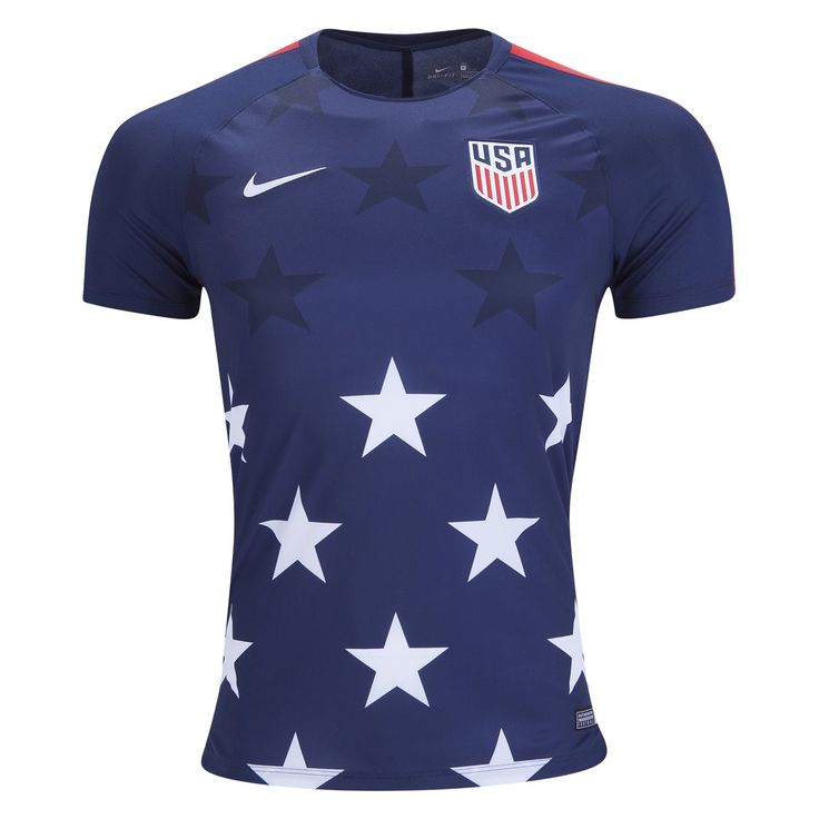 Nike USA Pre Match Training Jersey 2017