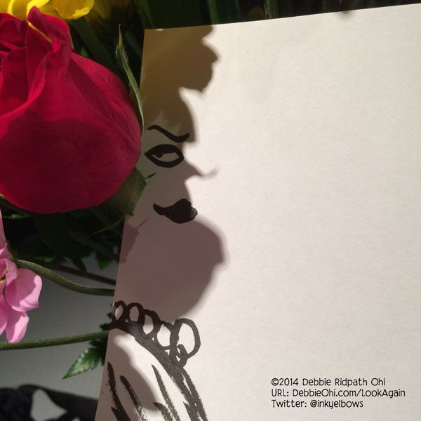 "Doodle: ""In The Shadow Of A Rose"" - Debbie Ridpath Ohi - Debbie Ridpath Ohi (Twitter: @inkyelbows)"