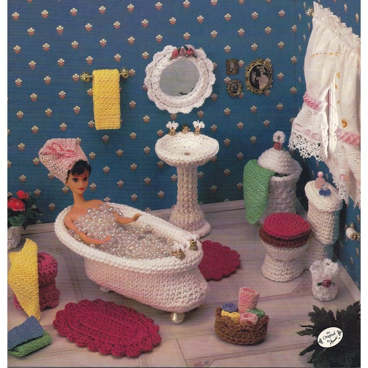 Amigurumi Doll Furniture : The 113 best images about Crocheted - Dolls & Doll clothes ...