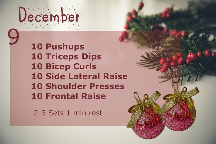December Fitness Challenge - Day 9