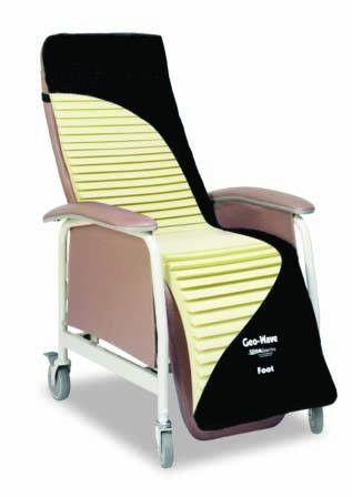 gerichair recliner cushion geowave