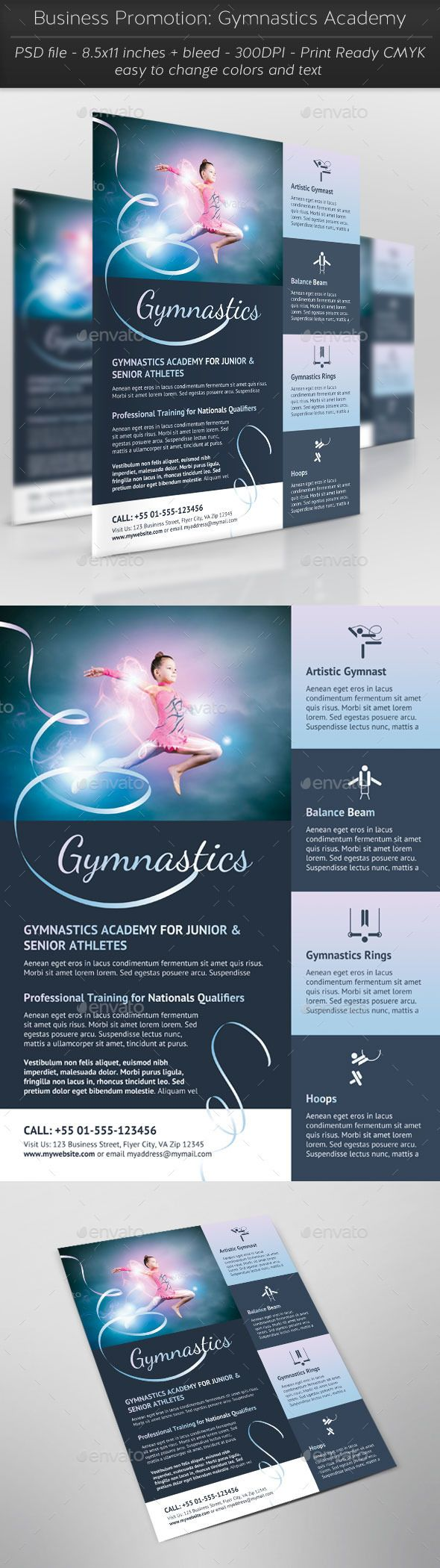 Business Promotion: Gymnastics Academy