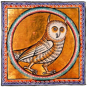 Aberdeen Bestiary - owl
