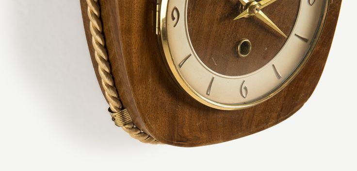 Anker 1950ler MidCentury Tarzı Duvar Saati | Anker 1950s MidCentury Style Wall Clock